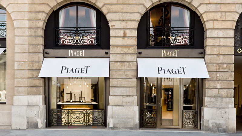 boutique piaget vend me paris 1er espace temps. Black Bedroom Furniture Sets. Home Design Ideas